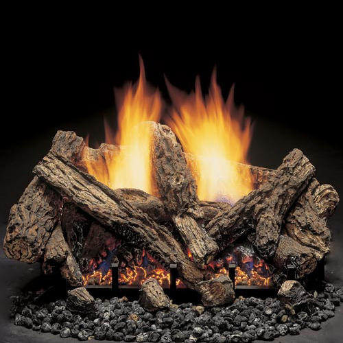 fireplace gas log ventless fireplaces