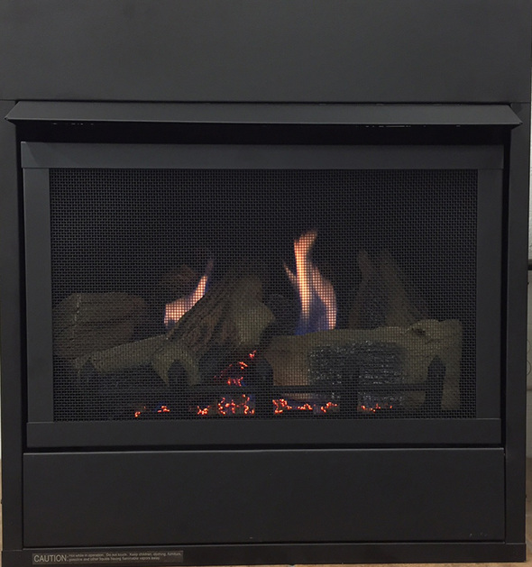 Monessen Aria 32 (Traditional) Ventless Gas Fireplace - Remote Ready - Natural Gas or Propane