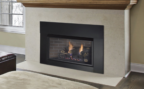 Monessen Solstice (Traditional) Ventless Gas Insert - Remote Ready - Natural Gas