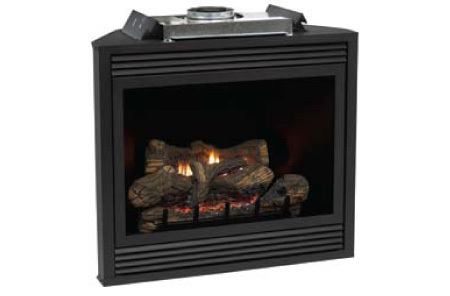 White Mountain Tahoe Deluxe Direct Vent Gas Fireplace - Remote Ready - Natural Gas Only