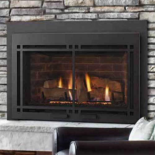 Majestic Traditional Ruby Small Direct Vent Gas Insert with Remote - Natural Gas