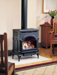 Monessen Oxford Direct Vent Gas Stove - Remote Ready - Natural Gas or Propane