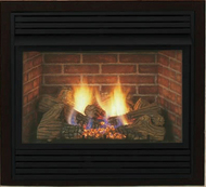 Monessen Smartline 36 inch Ventless Gas Fireplace - Remote Ready - Natural Gas or Propane
