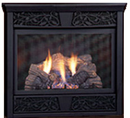 Monessen Chesapeake 24 Ventless Gas Fireplace - Remote Ready - Propane Only