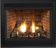 White Mountain Tahoe Premium Direct Vent Gas Fireplace - Remote Ready - Natural Gas Only