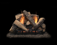 Monessen Stony Creek Ventless Gas Logs - Remote Ready - 18, 24 or 30 inch - Natural Gas