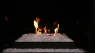 Monessen Lyric Ventless Gas Burner with Fire-Glass - Remote Ready - 18, 24 or 30 inch - Natural Gas